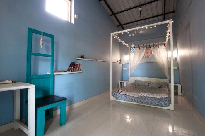 Well-lit interiors of Casa Serendip