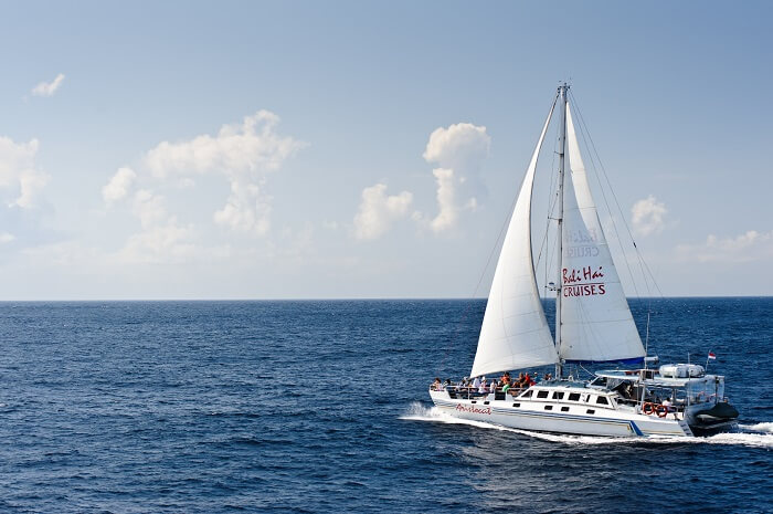 luxury catamaran cruise bali