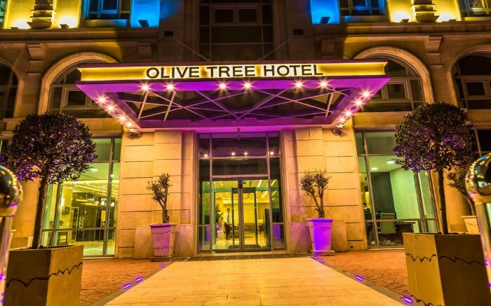 entrance of Live Tree Hotel