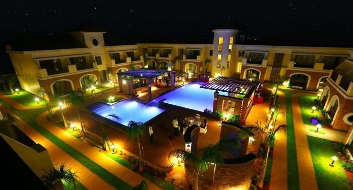 luxury romantic resort in pondicherry
