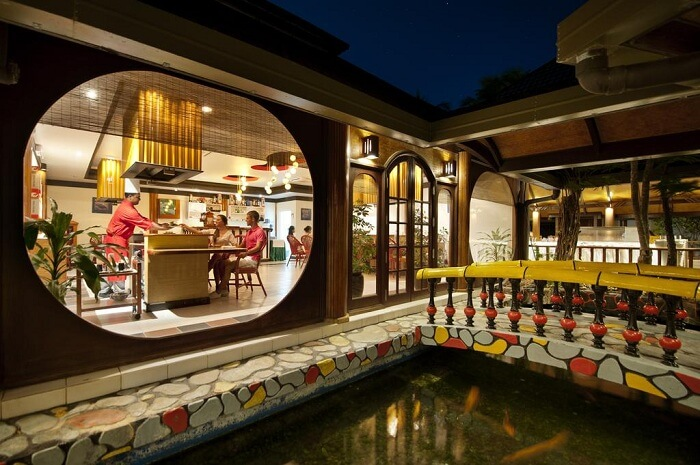 Japanese restaurant at Paradise Island