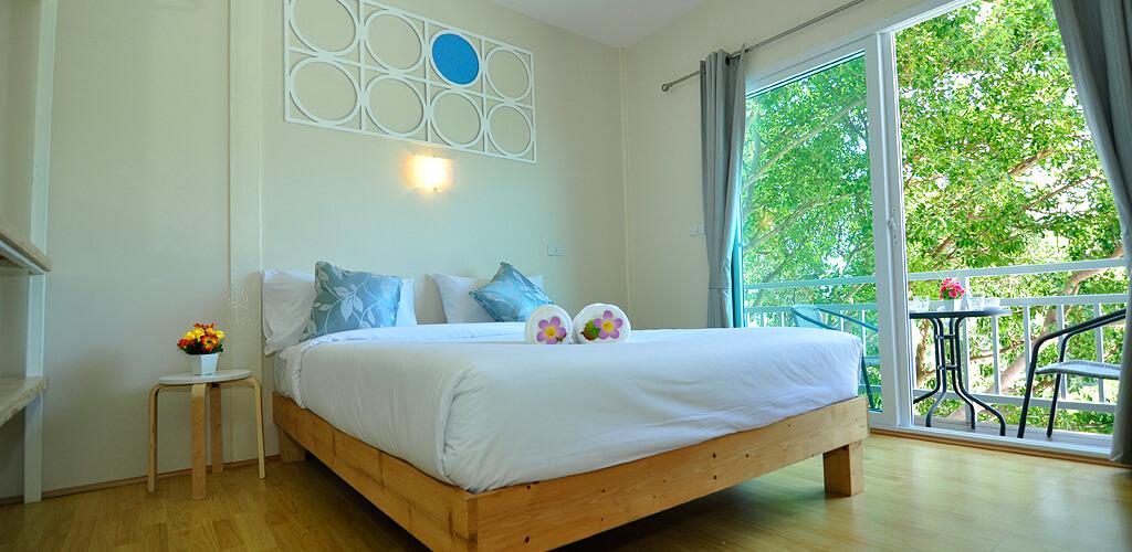 A room in Papaya Phi Phi