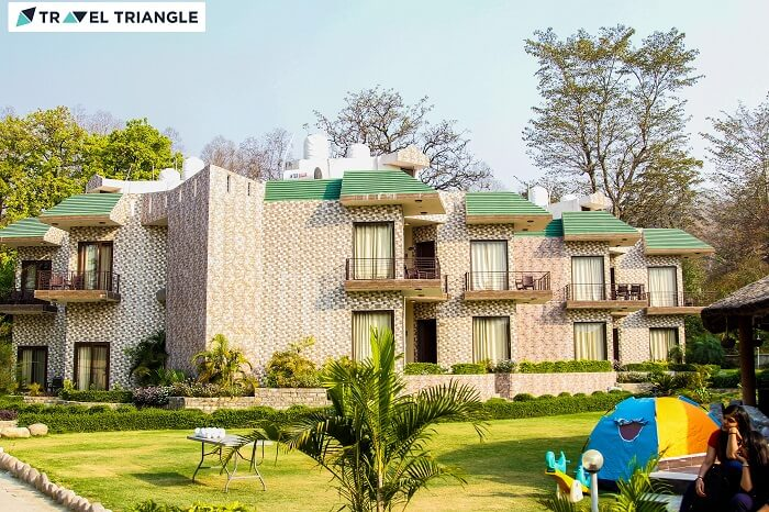 A beautiful resort in Jim Corbett