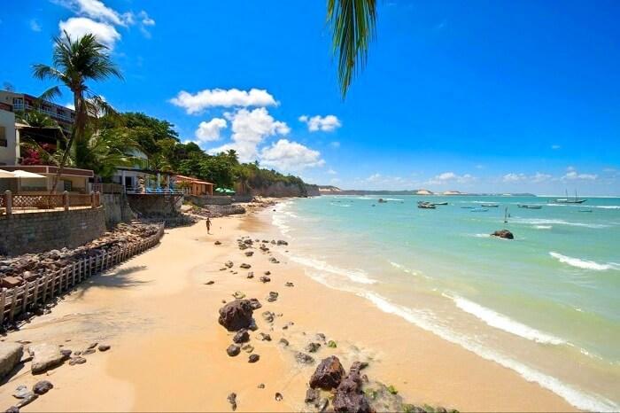 Praia de Pipa beach in Brazil