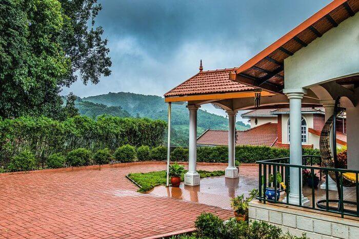 A homestay in the misty western ghats