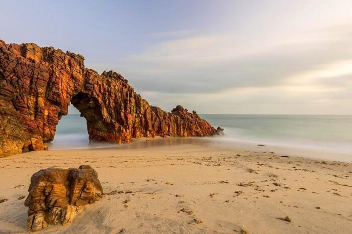 Jeri Beach in brazil