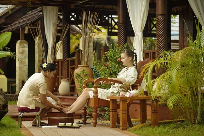 Spa at the Paradise Island resort and spa