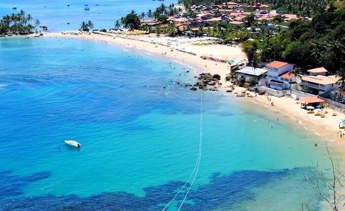 Ilha de Tinharé beach