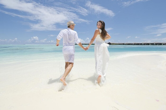 Paradise Island romantic holiday