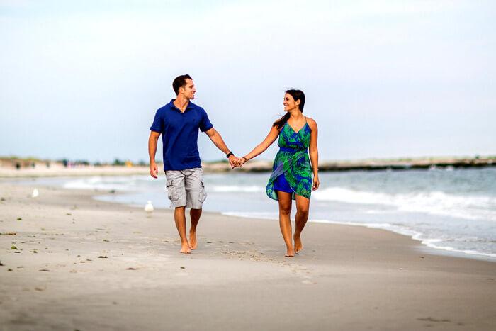 Honeymoon couple in Andaman