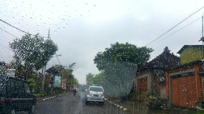 rainfall in bali