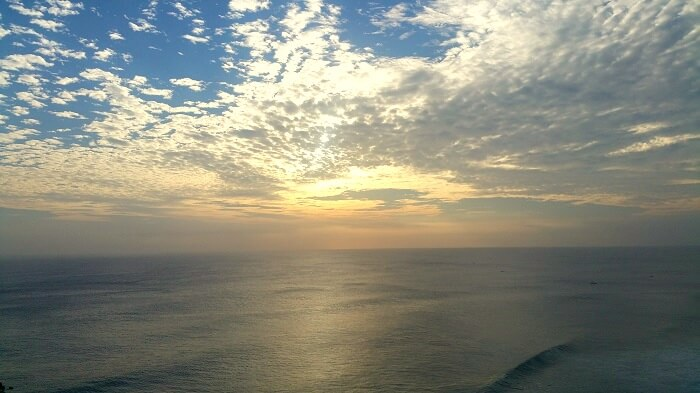 coastline in Bali