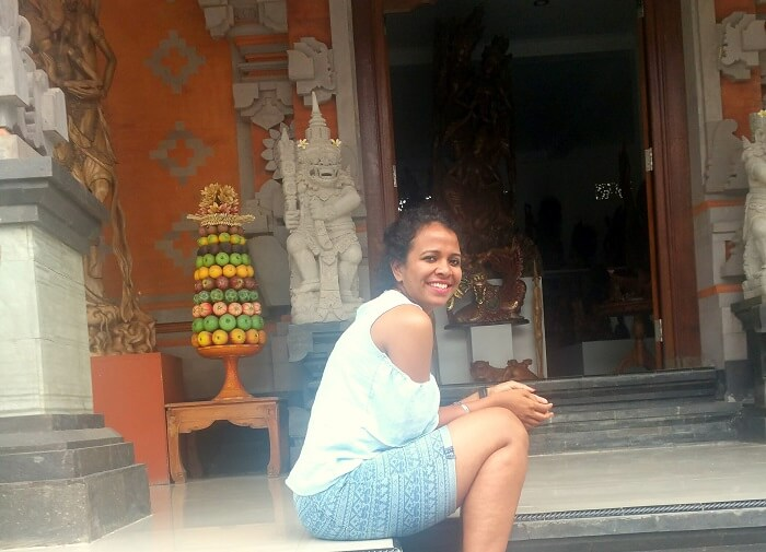 temple sightseeing in Bali