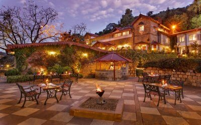 A beautiful resort with a huge lawn in Nainital1 ss31072017