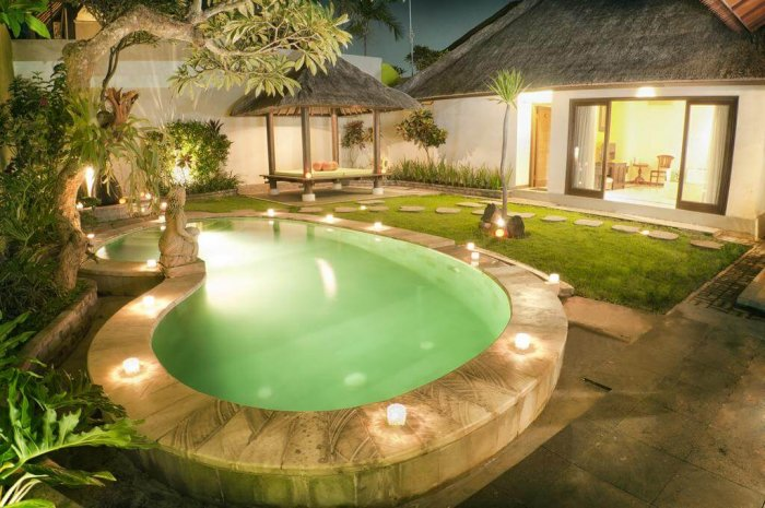view of pool in bali resort