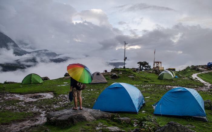 Camping in Dharamshala