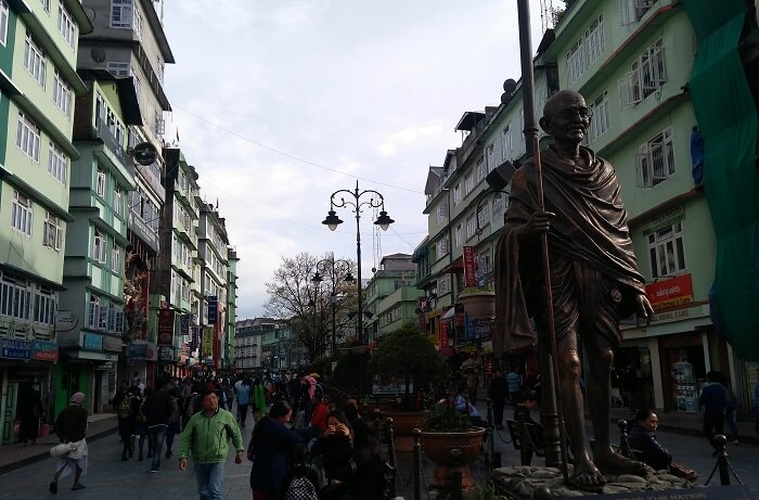 shopping in gangtok