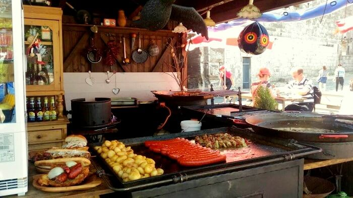 street food in vienna
