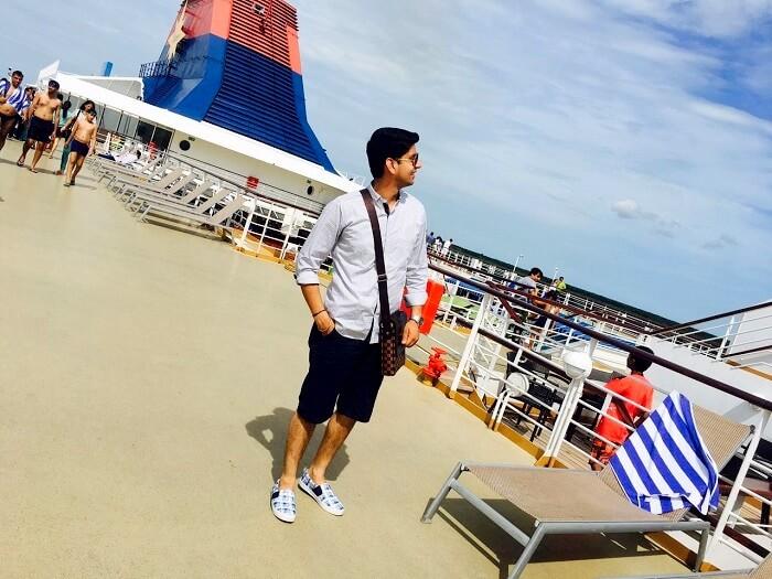 cruise deck in singapore