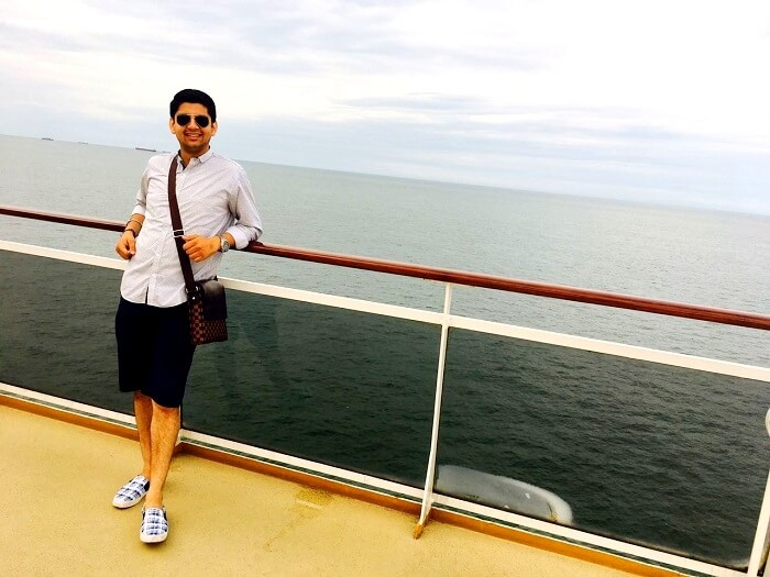 leisure time on cruise in singapore