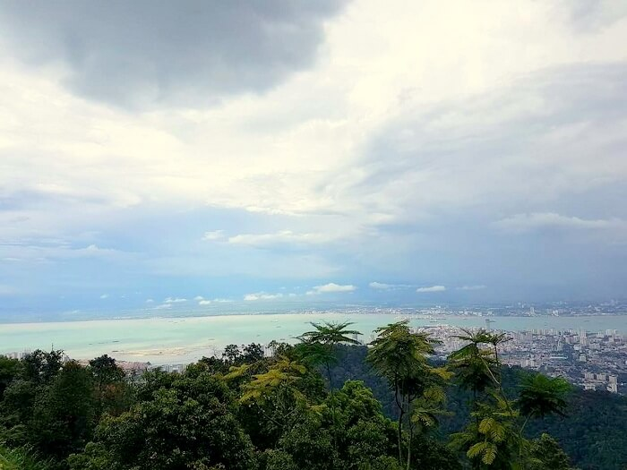on top of penang hill