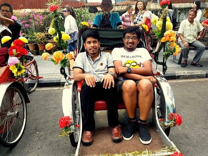 trishaw tour