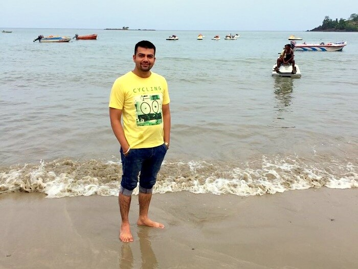 beaches in port blair