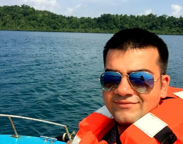 boating in andaman