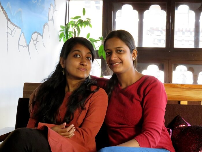 monali's friends in bhutan