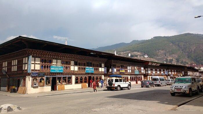 bhutan market area