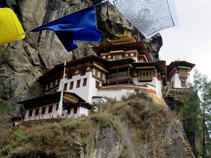 monali at taktsang monastery