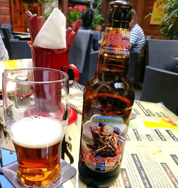 beer gardens in austria