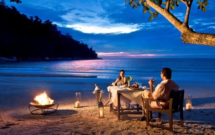 cadlelight dinner in langkawi