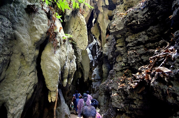 Caves on baratang island