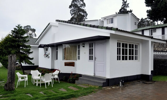 popular cottages in ooty for couples