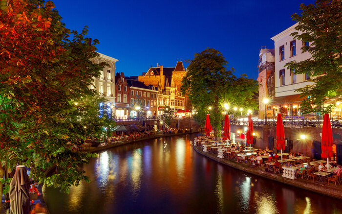 An evening in Utrecht