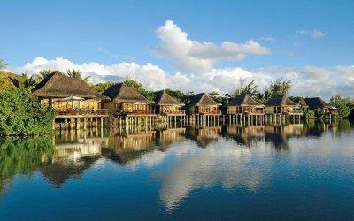 WATER villas in mauritius