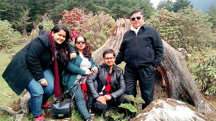 Family trip to Yumthang