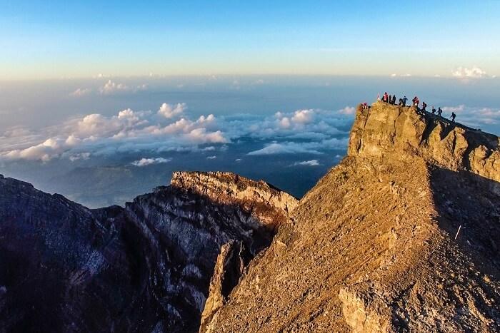 go on a trekking trip to mount agung