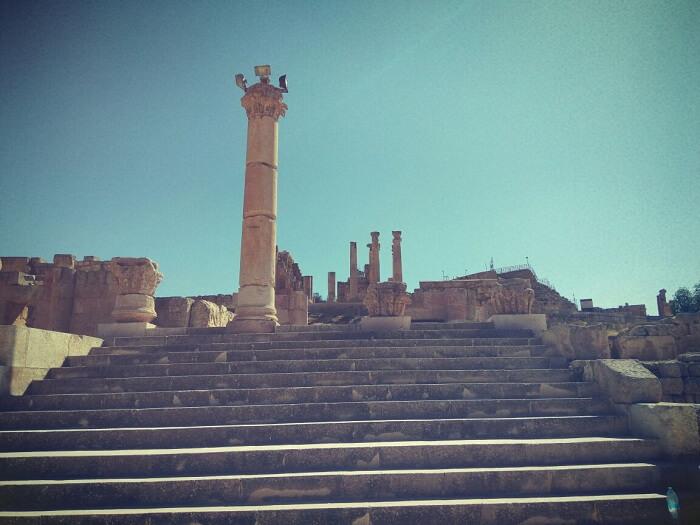 Jerash Artemis temple