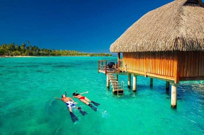 enjoy a honeymoon in maldives