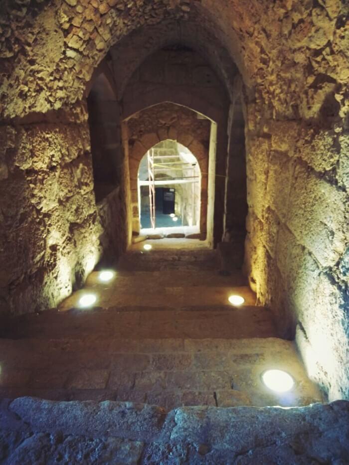 Ajloun castle architecture