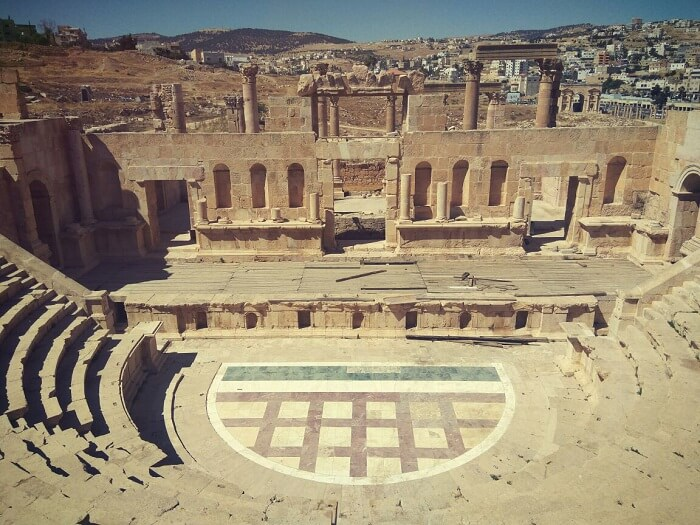 A theater in Jerash