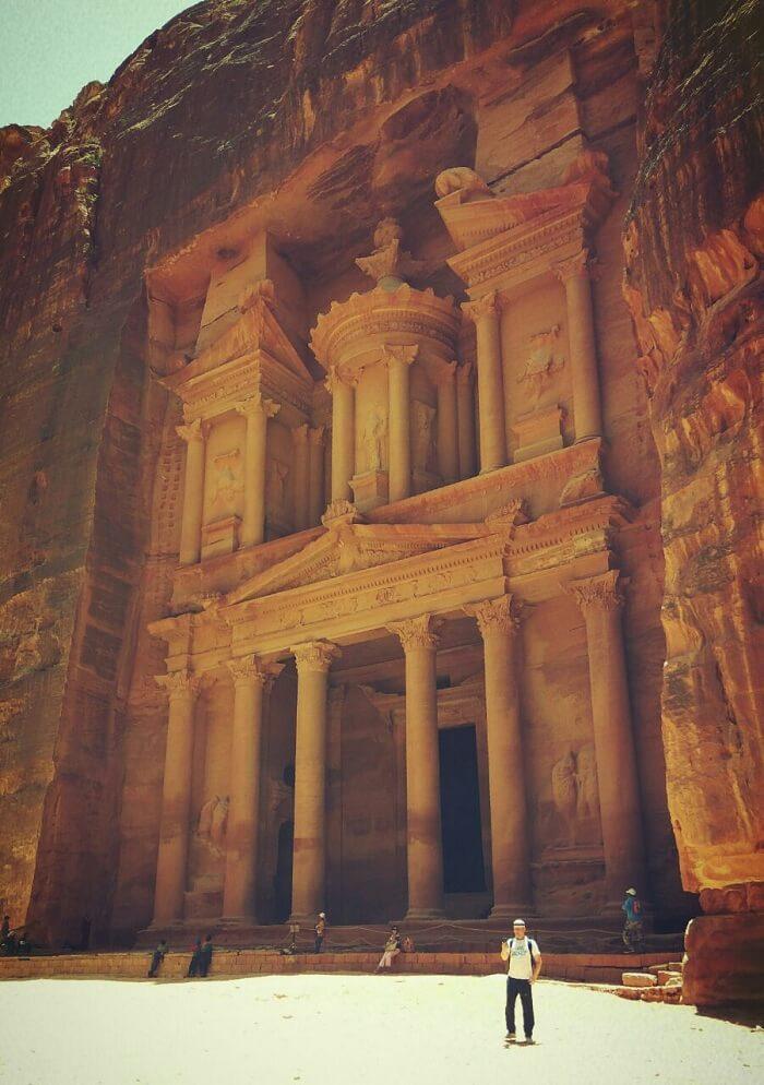 The Treasury Petra Jordan