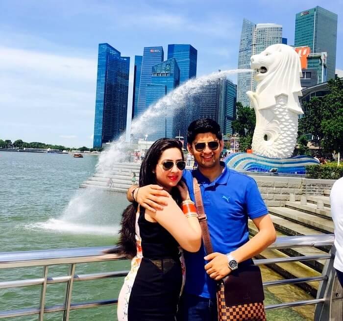 merlin fountain singapore