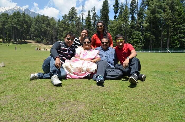 pahalgam family trip