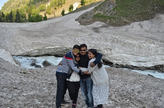 family trip to pahalgam