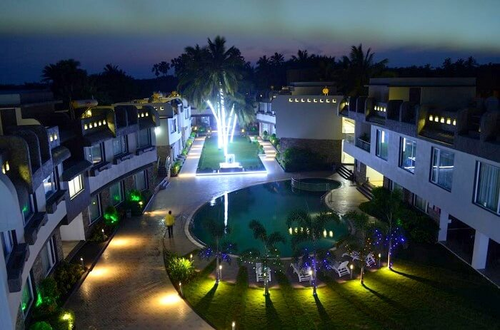 Kostamar beach resort in diu