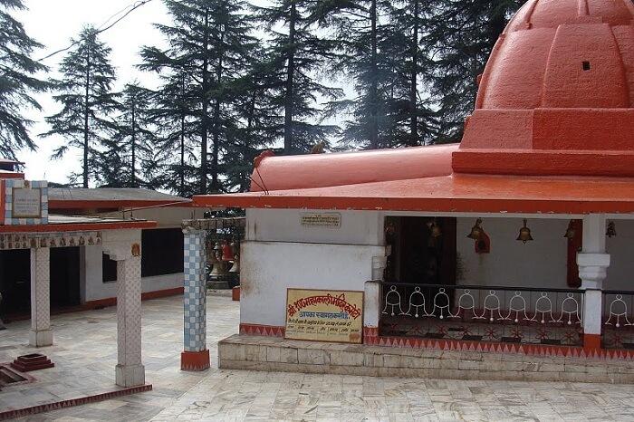 The Kalika Temple at Gangolihat in Uttarakhand
