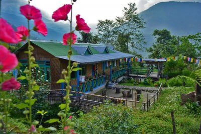 a beautiful homestay in the middle of hills